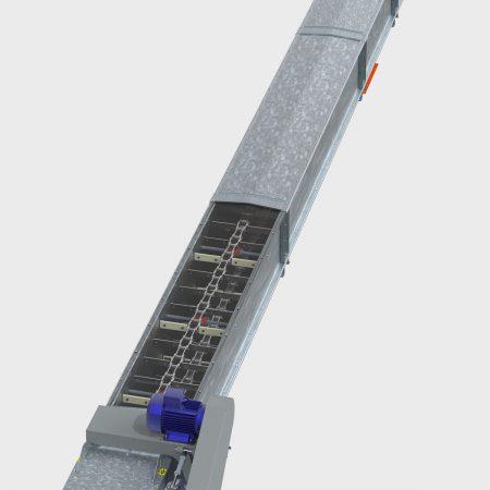АСМ Транспортер зерновой цепной ТЦ-100